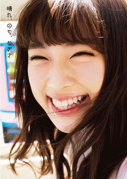 【渋谷凪咲グラビア画像】満面の笑顔がとっても可愛らしいNMB48アイドルのちょっとエッチな水着写真 09