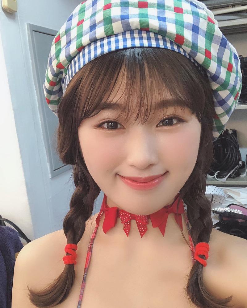 【渋谷凪咲グラビア画像】満面の笑顔がとっても可愛らしいNMB48アイドルのちょっとエッチな水着写真 56