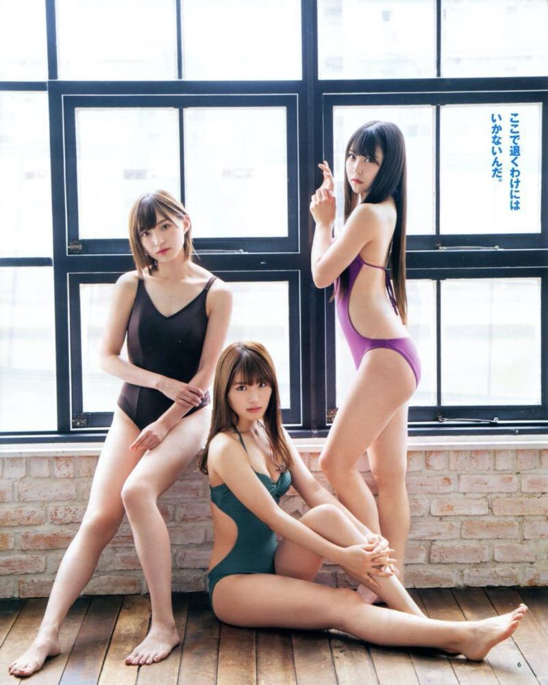 【渋谷凪咲グラビア画像】満面の笑顔がとっても可愛らしいNMB48アイドルのちょっとエッチな水着写真 57