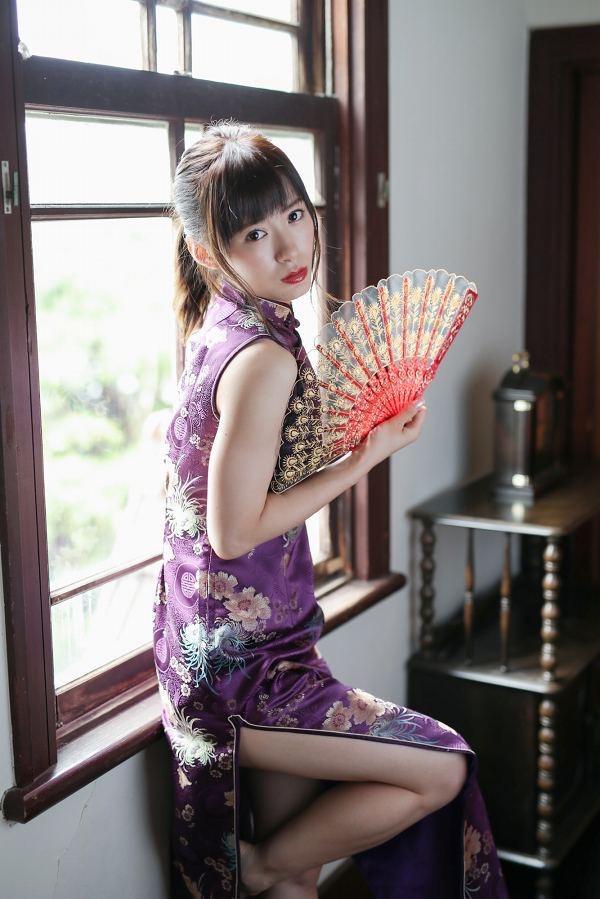 【生田衣梨奈グラビア画像】ビキニ水着からチャイナドレスまで着こなすセクシー可愛いモー娘アイドル 07
