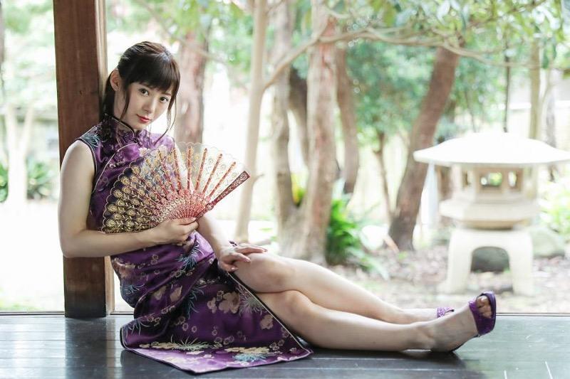 【生田衣梨奈グラビア画像】ビキニ水着からチャイナドレスまで着こなすセクシー可愛いモー娘アイドル 10
