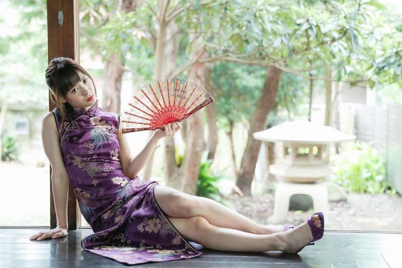 【生田衣梨奈グラビア画像】ビキニ水着からチャイナドレスまで着こなすセクシー可愛いモー娘アイドル 12