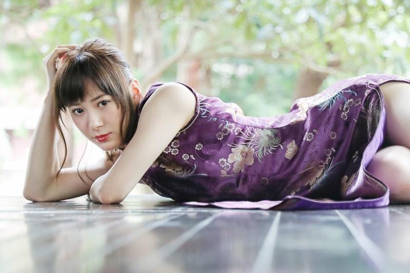 【生田衣梨奈グラビア画像】ビキニ水着からチャイナドレスまで着こなすセクシー可愛いモー娘アイドル 15
