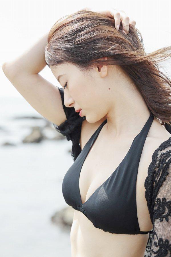 【生田衣梨奈グラビア画像】ビキニ水着からチャイナドレスまで着こなすセクシー可愛いモー娘アイドル 46