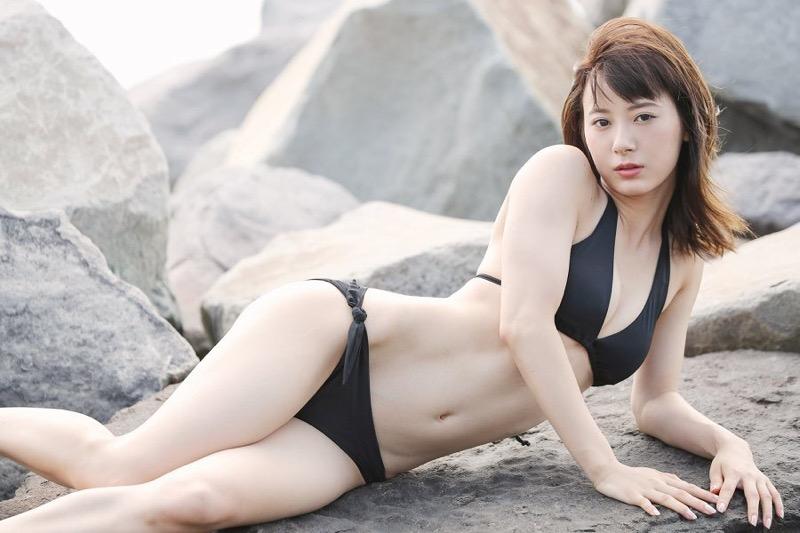 【生田衣梨奈グラビア画像】ビキニ水着からチャイナドレスまで着こなすセクシー可愛いモー娘アイドル 47
