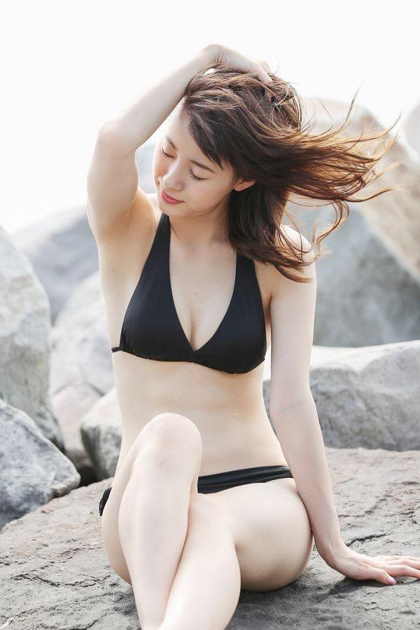【生田衣梨奈グラビア画像】ビキニ水着からチャイナドレスまで着こなすセクシー可愛いモー娘アイドル 49