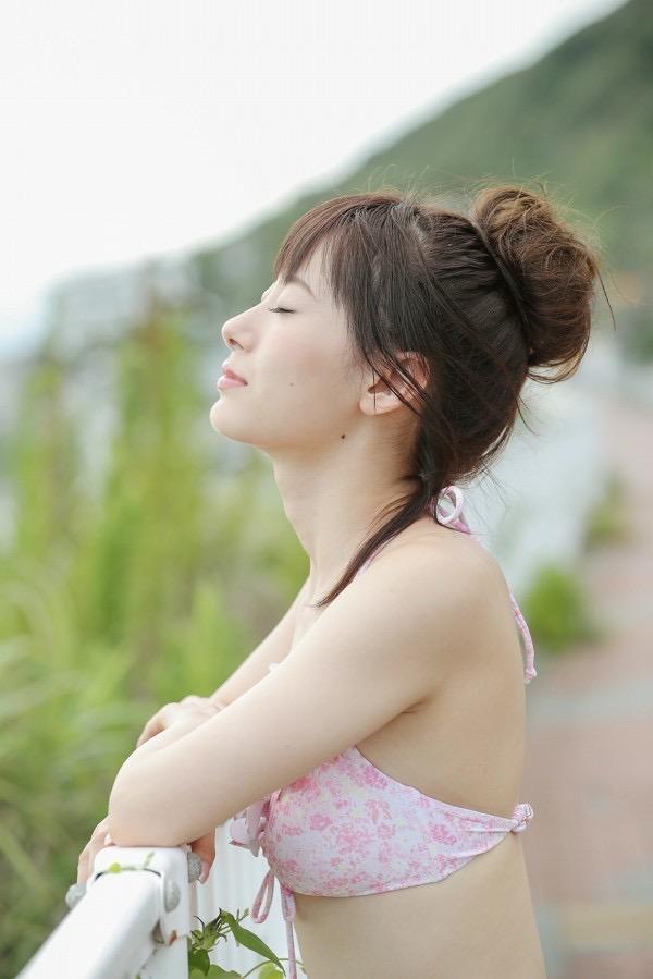 【生田衣梨奈グラビア画像】ビキニ水着からチャイナドレスまで着こなすセクシー可愛いモー娘アイドル 55