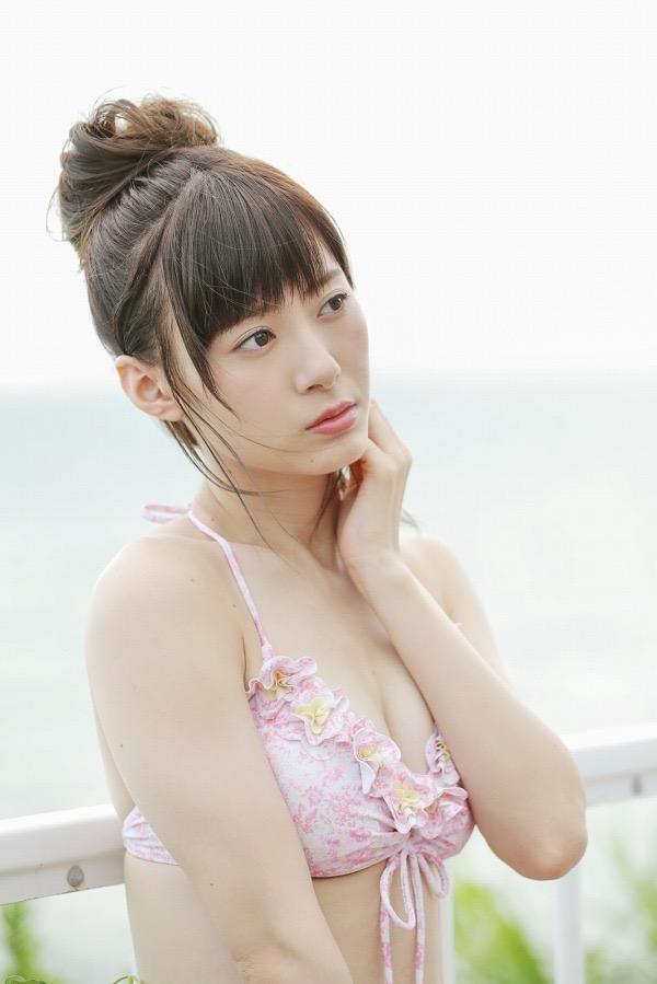 【生田衣梨奈グラビア画像】ビキニ水着からチャイナドレスまで着こなすセクシー可愛いモー娘アイドル 56