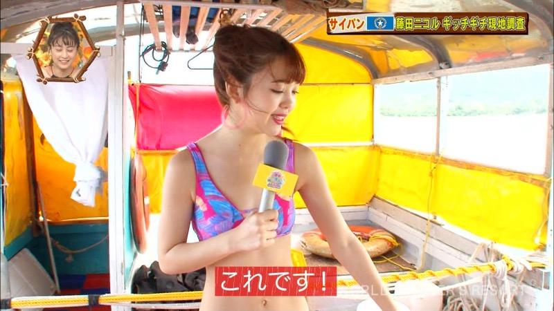 【藤田ニコルキャプ画像】可愛らしいファッションモデルにこるんのちょっとエッチなテレビ出演シーンw 24