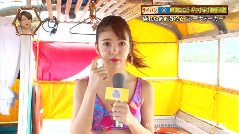 【藤田ニコルキャプ画像】可愛らしいファッションモデルにこるんのちょっとエッチなテレビ出演シーンw 26