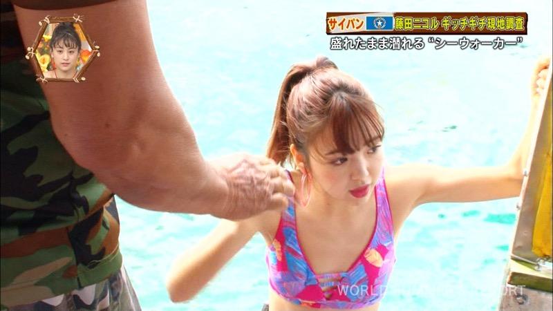 【藤田ニコルキャプ画像】可愛らしいファッションモデルにこるんのちょっとエッチなテレビ出演シーンw 27