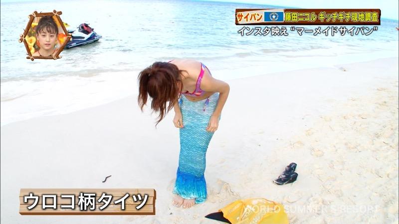 【藤田ニコルキャプ画像】可愛らしいファッションモデルにこるんのちょっとエッチなテレビ出演シーンw 44
