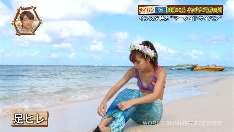 【藤田ニコルキャプ画像】可愛らしいファッションモデルにこるんのちょっとエッチなテレビ出演シーンw 45