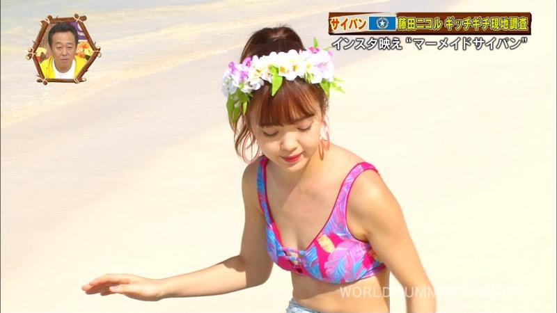 【藤田ニコルキャプ画像】可愛らしいファッションモデルにこるんのちょっとエッチなテレビ出演シーンw 46