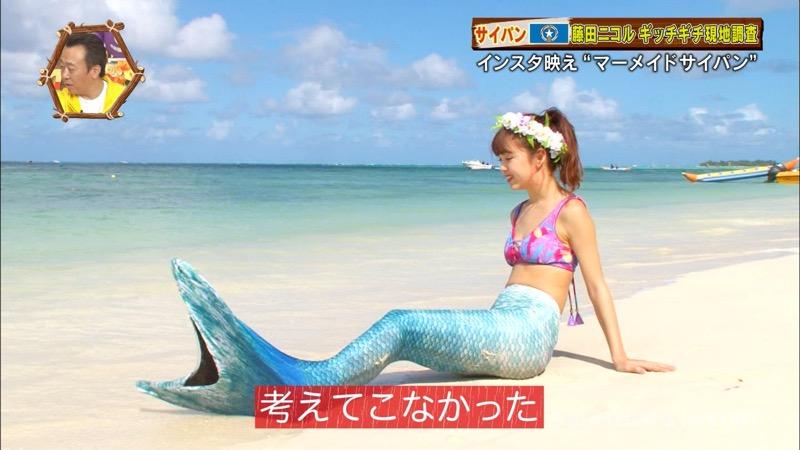 【藤田ニコルキャプ画像】可愛らしいファッションモデルにこるんのちょっとエッチなテレビ出演シーンw 48