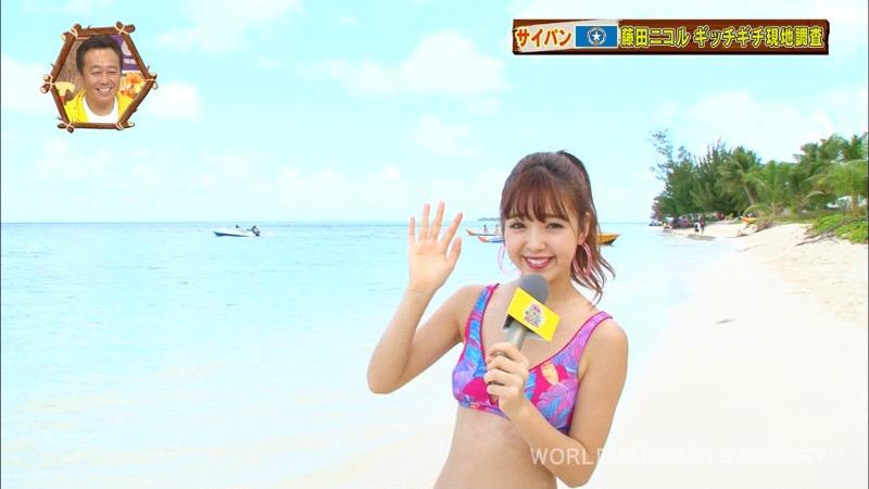 【藤田ニコルキャプ画像】可愛らしいファッションモデルにこるんのちょっとエッチなテレビ出演シーンw 54