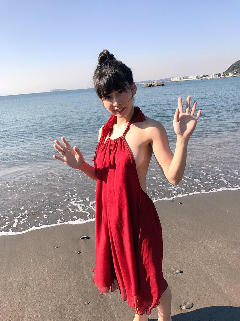 【奥津マリリグラビア画像】シンガーにアイドルそしてグラドルと多方面で頑張っているFカップ美少女 47