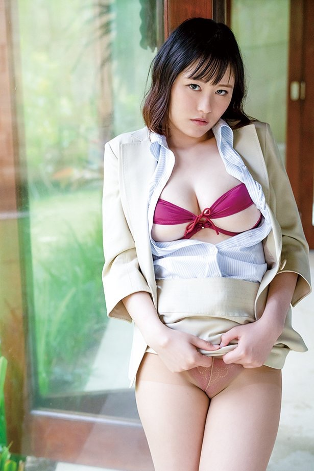【東坂みゆエロ画像】Hカップの色白爆乳でパイズリをして欲しくなるエッチなSNS自撮りが最高過ぎたw 22