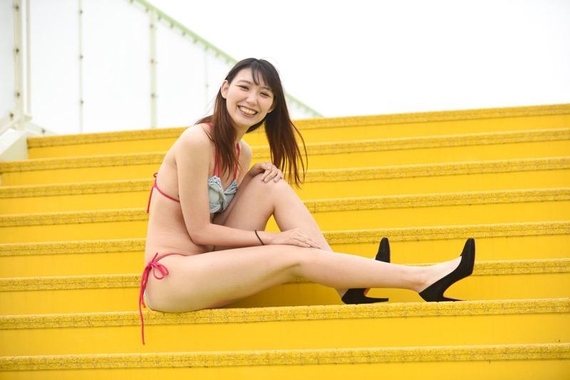 【新田ゆうエロ画像】フィギュアスケートで鍛えた引き締まったスレンダー長身ボディがエロ過ぎる! 77
