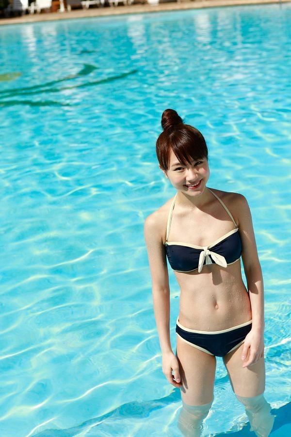 【石田亜佑美グラビア画像】爽やかな笑顔とエッチなクビレボディが魅力的なアイドルのビキニ姿がエロ過ぎた 52