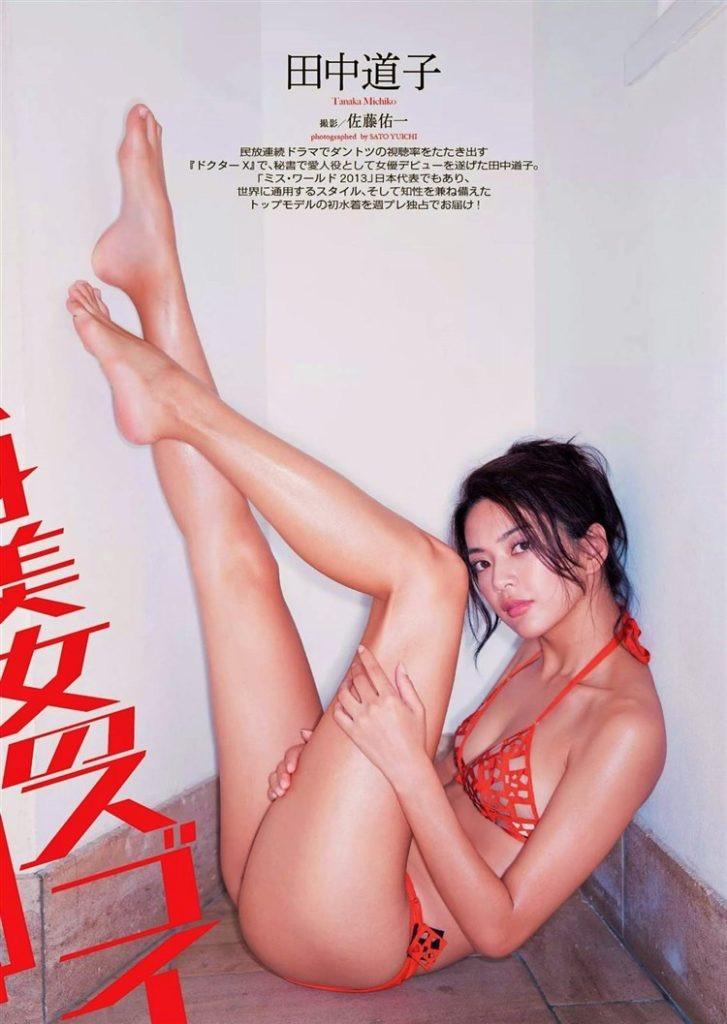 【田中道子グラビア画像】スタイル抜群な9頭身ボディが本当に美しすぎて釣り合う男が居なさそうw 47