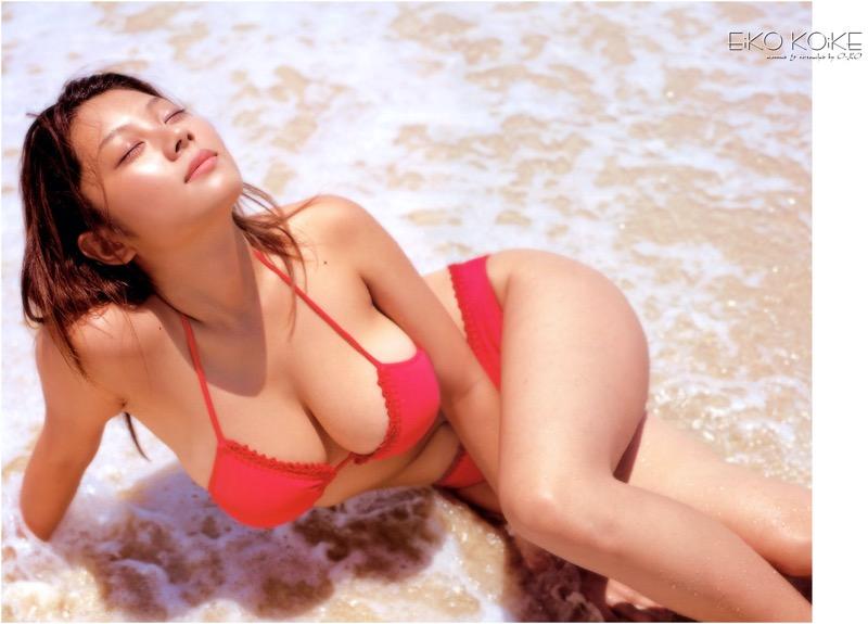 【小池栄子お宝画像】かつて人気を博したFカップ巨乳美人グラビアアイドルが復活を諦めたらしいw 53