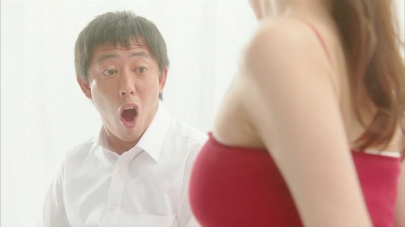 【岡崎紗絵キャプ画像】ファッションモデルから女優になった美女のセクシーなテレビ出演シーン 03