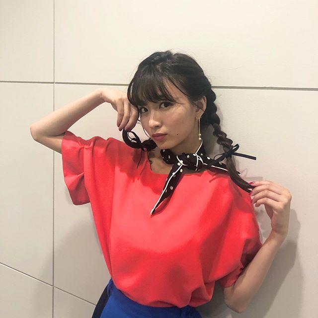 【岡崎紗絵キャプ画像】ファッションモデルから女優になった美女のセクシーなテレビ出演シーン 77