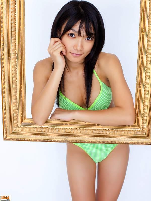 【外岡えりかグラビア画像】元「アイドリング!!!」創設メンバーのセクシーなランジェリー姿がエロい! 16