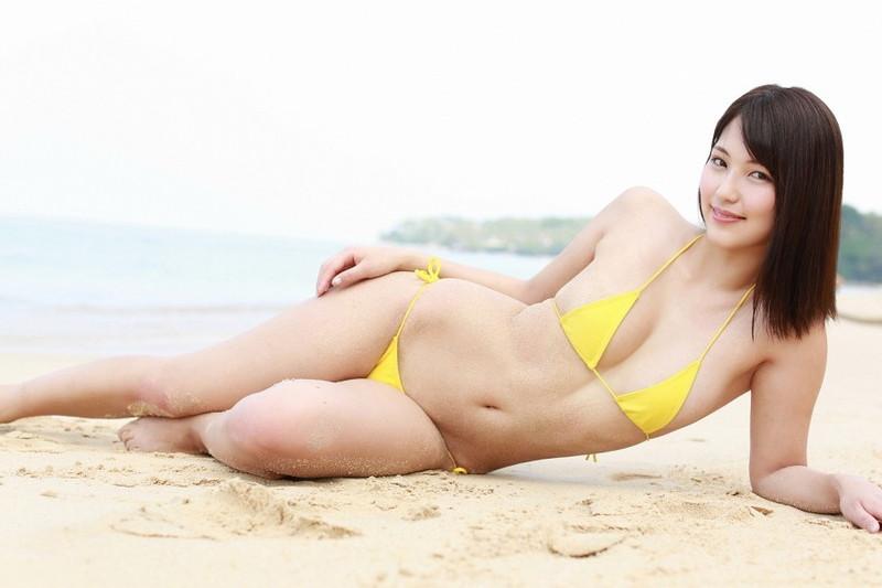 【原あや香グラビア画像】モデル出身だけど結構エロい水着姿を撮っていてグラドルの方が向いていた? 80