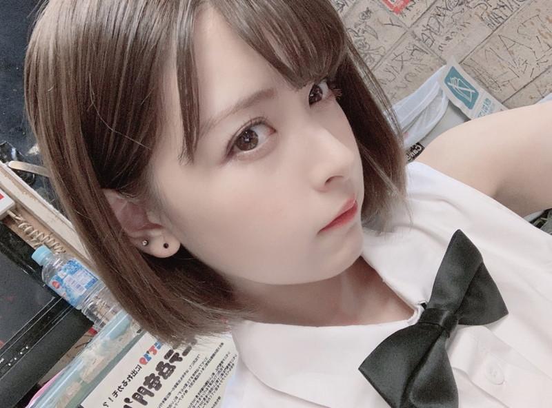 【木村葉月エロ画像】女子高生制服が似合っていてめちゃくちゃ可愛いボブヘアー美少女
