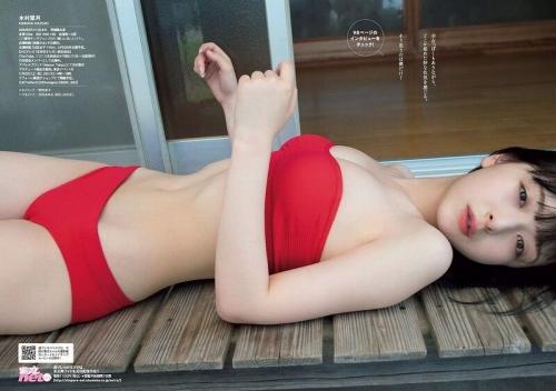 【木村葉月エロ画像】女子高生制服が似合っていてめちゃくちゃ可愛いボブヘアー美少女 13