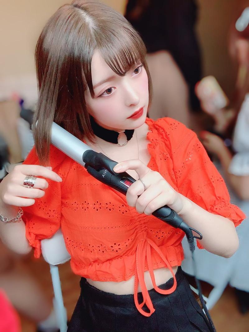 【木村葉月エロ画像】女子高生制服が似合っていてめちゃくちゃ可愛いボブヘアー美少女 43