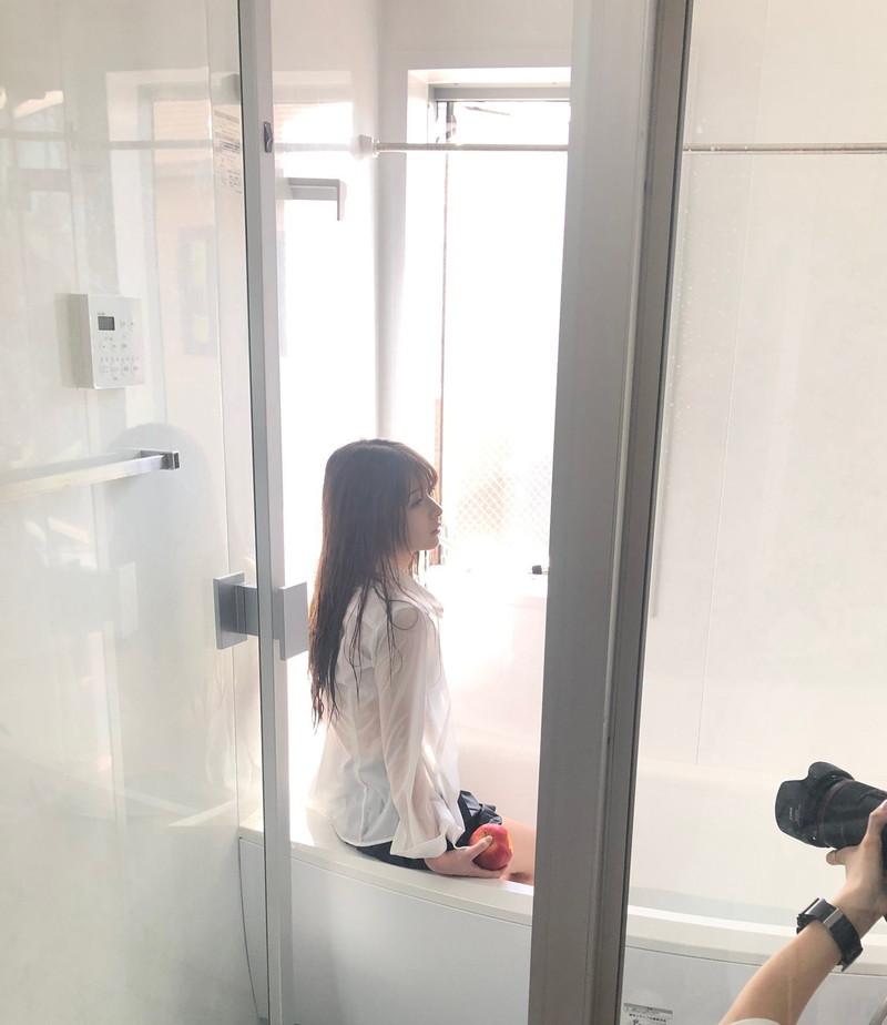【木村葉月エロ画像】女子高生制服が似合っていてめちゃくちゃ可愛いボブヘアー美少女 45