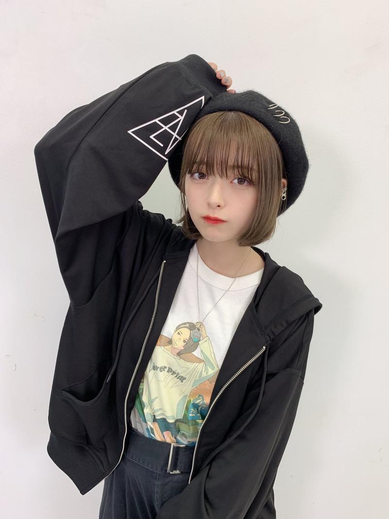 【木村葉月エロ画像】女子高生制服が似合っていてめちゃくちゃ可愛いボブヘアー美少女 59