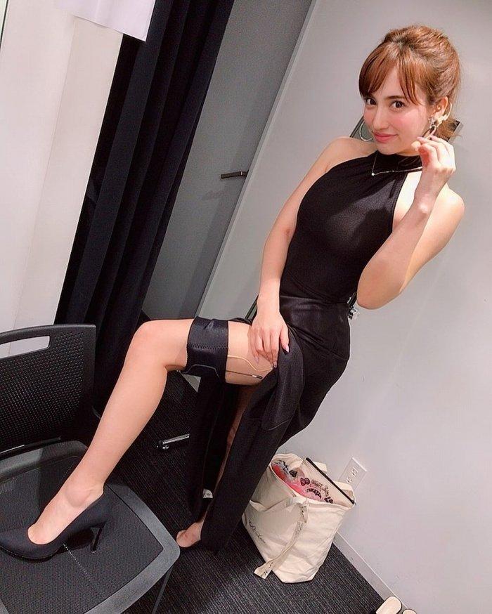 【朝比パメラグラビア画像】ニューヨーク産まれのハーフ美人が魅せるランジェリー姿がマジエロいw 30