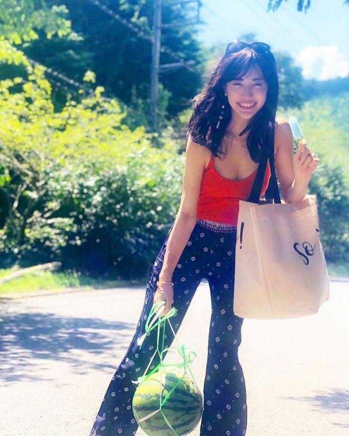 【朝比パメラグラビア画像】ニューヨーク産まれのハーフ美人が魅せるランジェリー姿がマジエロいw 31