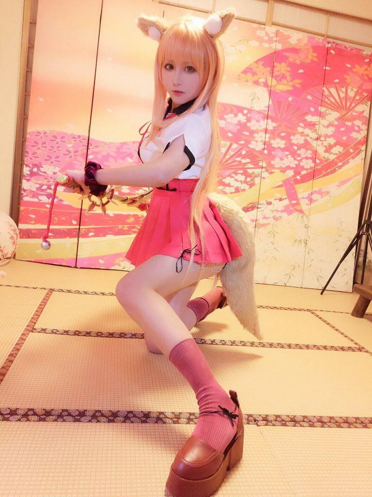 【コスプレエロ画像】中国出身コスプレイヤー凛子が扮する美少女キャラが美し過ぎたwwww 42