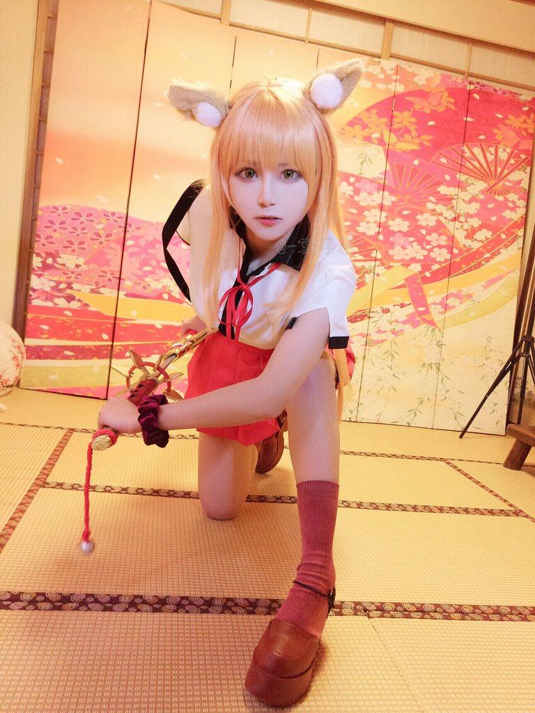 【コスプレエロ画像】中国出身コスプレイヤー凛子が扮する美少女キャラが美し過ぎたwwww 44