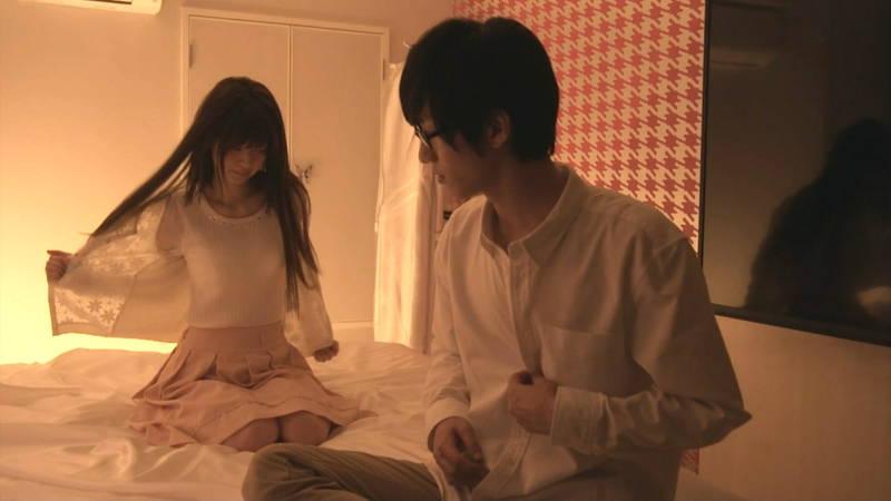 【JKキャプ画像】深夜ドラマでイケメンにパンティー脱がされて愛撫されるJKがエロいwww 11