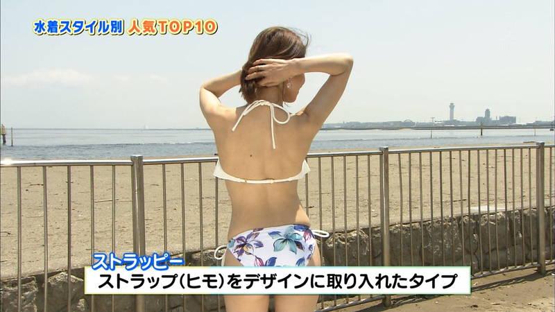 【戸田れいキャプ画像】アラサーなのにプリプリのケツがエロすぎる戸田れいの水着姿www 07
