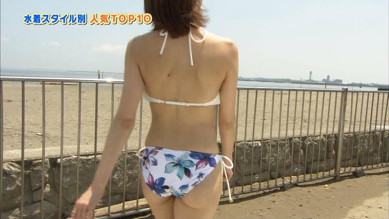 【戸田れいキャプ画像】アラサーなのにプリプリのケツがエロすぎる戸田れいの水着姿www 11