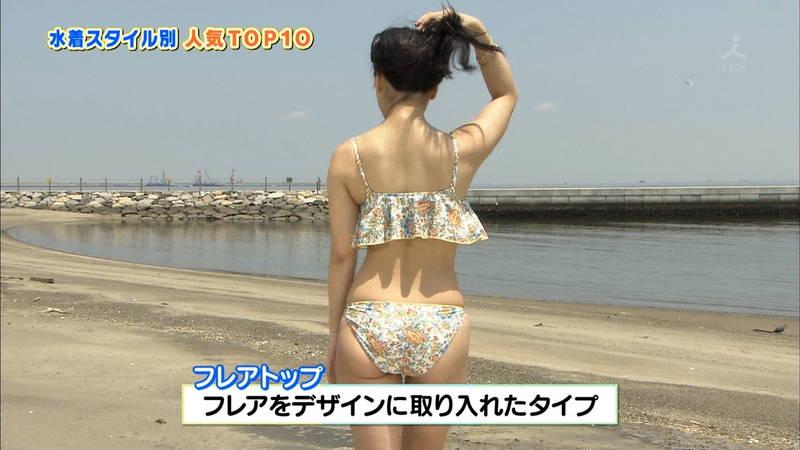 【戸田れいキャプ画像】アラサーなのにプリプリのケツがエロすぎる戸田れいの水着姿www 15