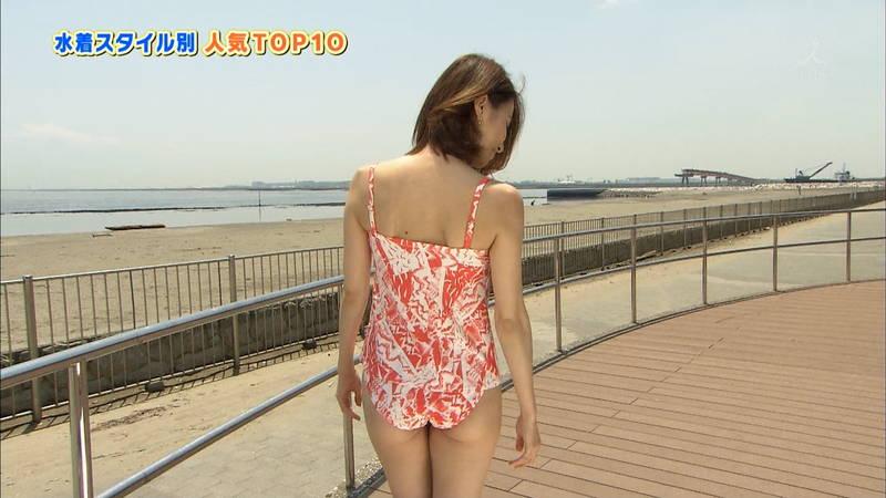 【戸田れいキャプ画像】アラサーなのにプリプリのケツがエロすぎる戸田れいの水着姿www 29