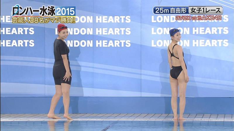 【森下悠里キャプ画像】よくある水泳大会ものの番組で森下悠里がおっぱい揉まれたと聞いてwww 05