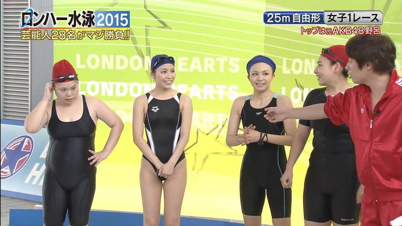 【森下悠里キャプ画像】よくある水泳大会ものの番組で森下悠里がおっぱい揉まれたと聞いてwww 06
