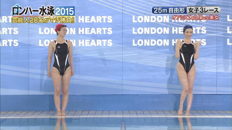 【森下悠里キャプ画像】よくある水泳大会ものの番組で森下悠里がおっぱい揉まれたと聞いてwww 27