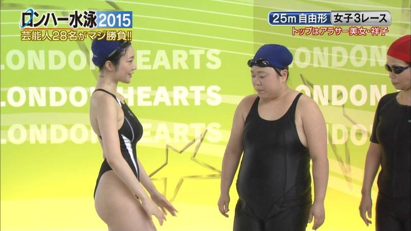 【森下悠里キャプ画像】よくある水泳大会ものの番組で森下悠里がおっぱい揉まれたと聞いてwww 28