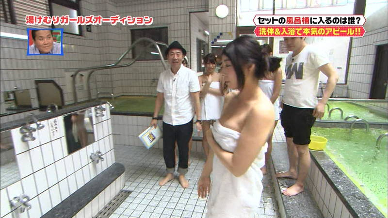 【銭湯キャプ画像】下になにか着ているってわかってても興奮するアイドルの入浴風景www 18