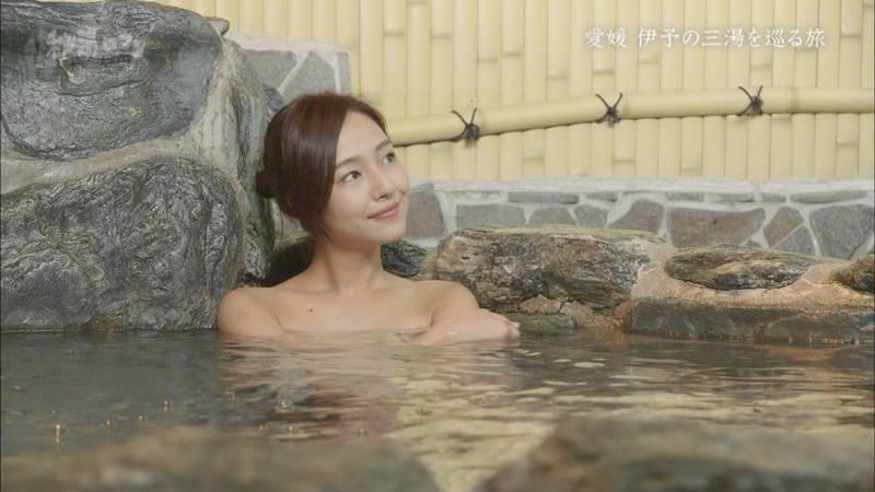 【石川理咲子キャプ画像】超美人でスタイルのいい女性の温泉入浴シーンはいいものだwww 10